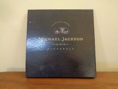 Michael Jackson Dangerous Collectors Edition First Printing Pop Up