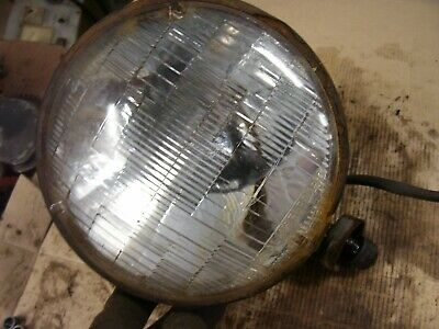 Vintage Truck Automobile Tractor - 7 Dia Head Light -rat Rod -works