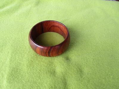 Armreif, Armband aus Rosenholz, 100% Naturprodukt, Handarbeit - 9933