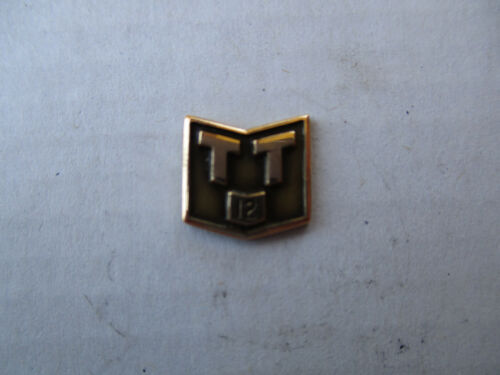 Terminal Transportation 12 yr Service Safe Driver Award Trucker Trucking Pin