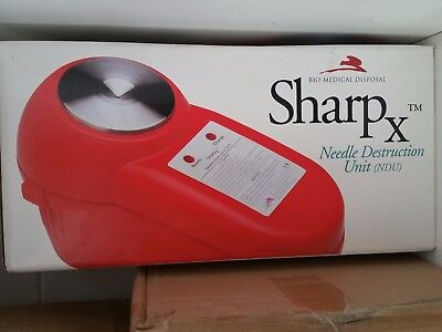 Sharp X Needle Destruction Unit Ndu Bio Medical Waste Disposal Nib
