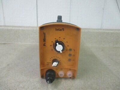 Prominent Beta5 Solenoid Driven Pump 1017952d Used