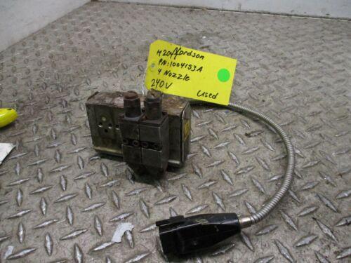 Nordson H204t, pn: 1004153A 4 nozzle 240v