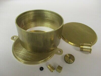 Model Hit And Miss Gas Engine Brass Fuel Tank Kit 3 Diameter 1-12 Tall Liner