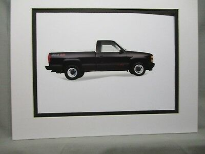 (1991  Chevrolet Pickup 454ss   Artist Illustrated  American Express Auto Exhibit)