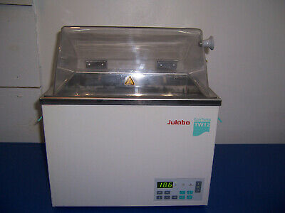 11396 Julabo Tw-12 Eco Temp Water Bath W Cover Lid