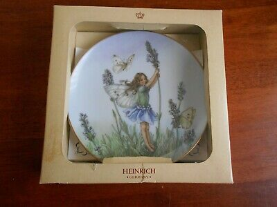 "Villeroy & Boch/Heinrich ""LAVENDER FAIRY"" Cicely M Barker Flower Fairies Plate"
