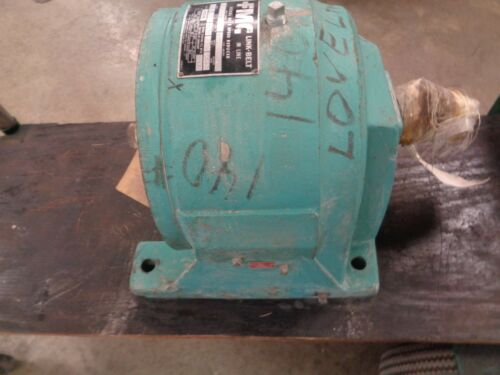 """FMC Link-Belt  BDIL-72  Helical Gear speed Reducer 9.76 HP Ratio 6.2(see pic""""s)"""