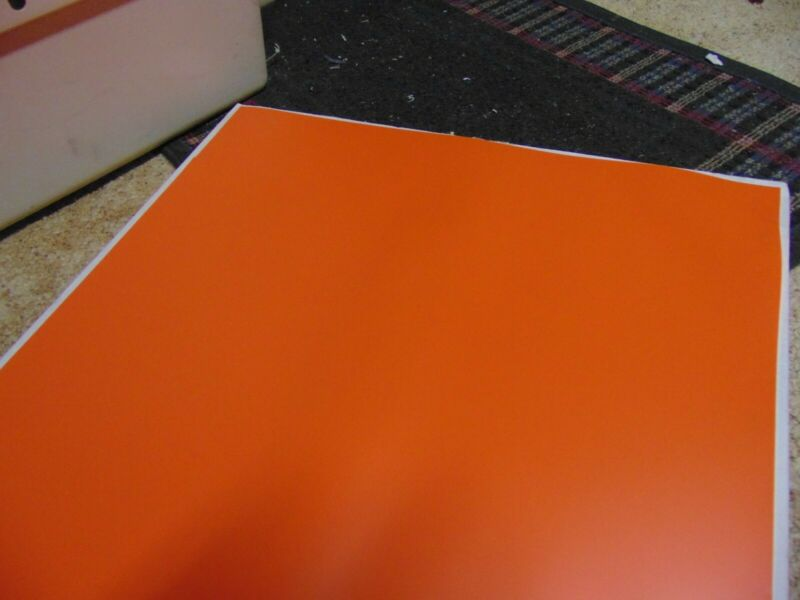 COLOR LOK PRE PRESS 22 X 28 ANTISTATIC ORANGE MASKING SHEET