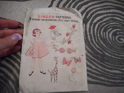 Vintage Singer Patterns For Little Girls Dresses (Vintage Dresses For Little Girls)