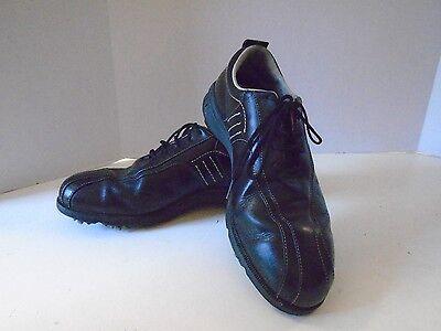 Adidas Zapatos de Golf 9 1/2 M de Segunda Mano Negro Z Traxion Suave Púas