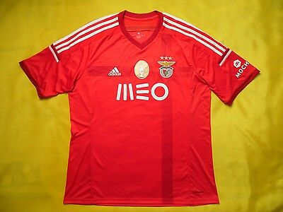 Benfica Jersey 2014 2015 Home XL Shirt Football Mens Camiseta Red Adidas ig93 image