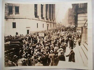 1929 Stock Market Crash Black Friday New York City NYC Brown Brothers Photo