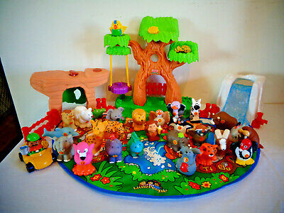 FISHER PRICE LITTLE PEOPLE A TO Z LEARNING ZOO ALPHABET PLAY SET
