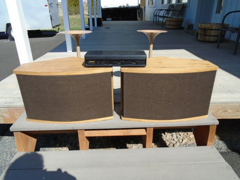 Bose 901 Series 6 Pair With EQ, Stands and Manual