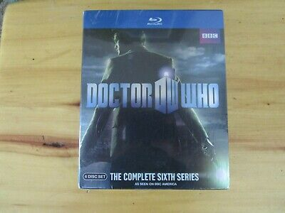 Doctor Who The Complete Sixth Series Blu-Ray Brand New!