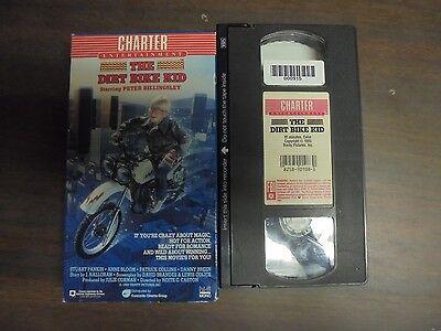 "USED VHS Movie ""The Dirt Bike Kid"" ""G"""