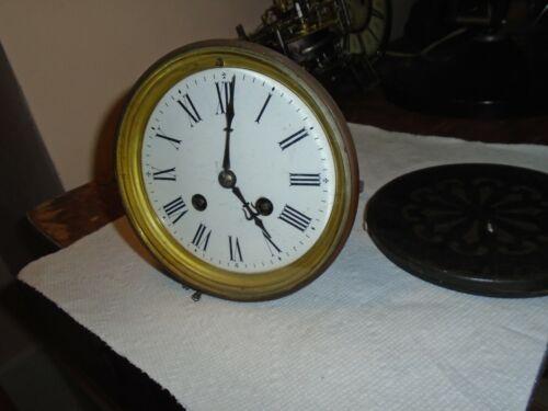 Antique-French-Clock Movement-Ca.1885-To Restore-#E111