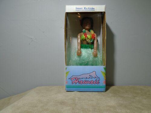 """SWEET KeAloha LOVELY DASHBOARD 6.5"""" HULA DANCER KC CO. LTD HAWAII NIB (SF240)"""