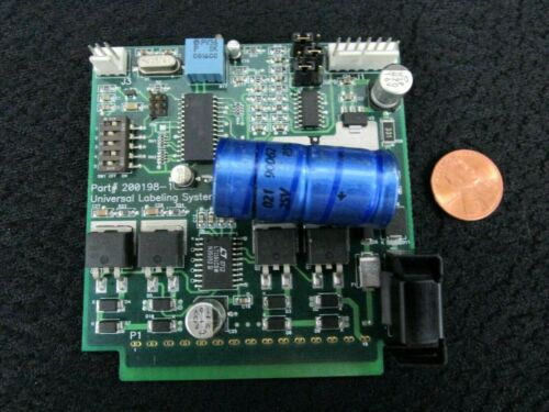 Universal Labeling Systems 200198-1 Power Module Pcb Circuit Board