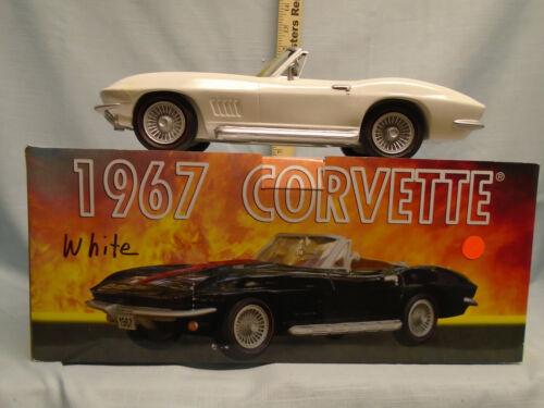 I.A.J.B.B.S.C. 1967 White Corvette Decanter