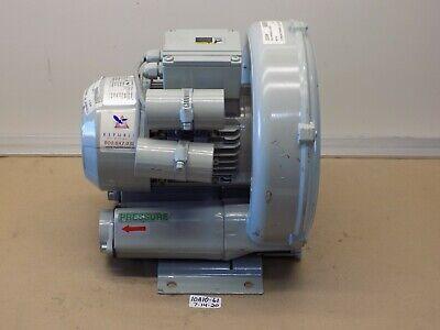 New Old Stock Republic Regenerative Ring Blower Compressor Hrb201 115120v