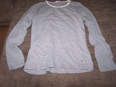 Ladies Grey Tommy Hilfiger Shirt Size S/P in GREAT condition (sleepwear?) ()
