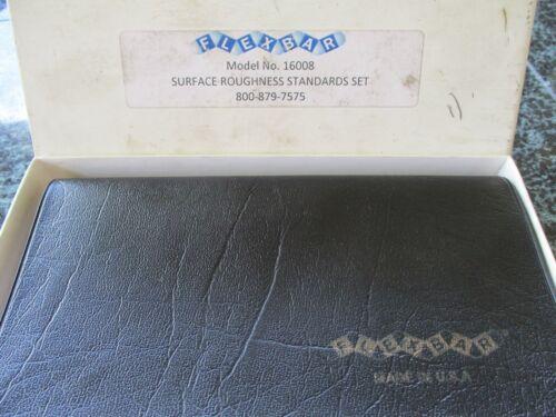 FLEXBAR Surface Roughness Standards Set Model No. 16008