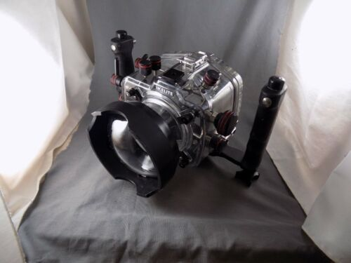 Ikelite SLR-DC Housing 6807.1 For Nikon D70 with dome excellent condition
