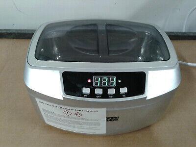 Central Machinery 63256 Ultrasonic Cleaner 2.5 Liter No Basket 120v Works