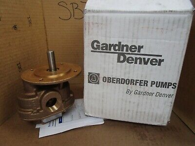 Gardner Denver Oberborfer Bronze Rotary Gear Pump N990 Dkh 1 Npt New