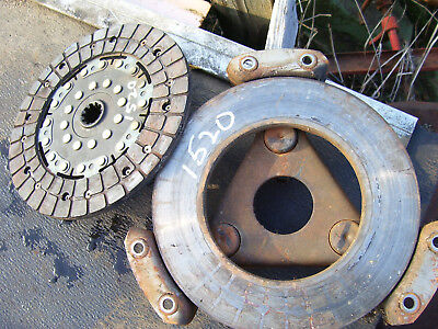 Vintage Ford 1520 D Tractor - Clutch Disc Pressure Plate - 8 12