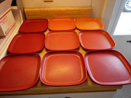 tupperware square plates