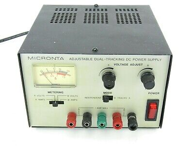 Micronta 22-121 Adjustable Dual-tracking Dc Power Supply