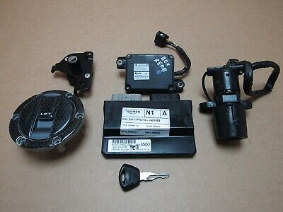 Triumph Speed Triple 1050 2011 14,427 miles ECU ignition lockset (4703)