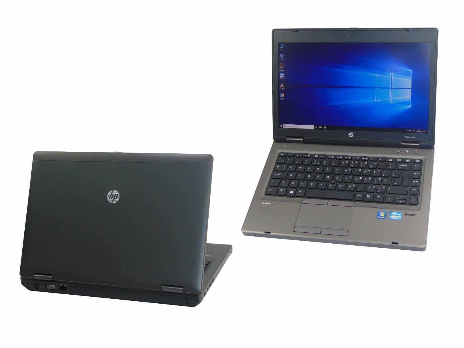 Laptop Windows - HP Laptop Windows 10 ProBook 6460b Core i5-2520M 2.5Hz 4GB 500GB Warranty