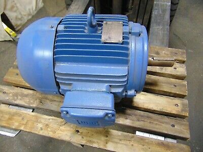 Weg Severe Duty Electric Motor 7.5 Hp 3 Ph 5060 Hz 3515 Rpm Tefc 213t 1-38