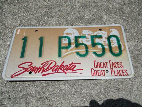 South Dakota license plate #  11 P550