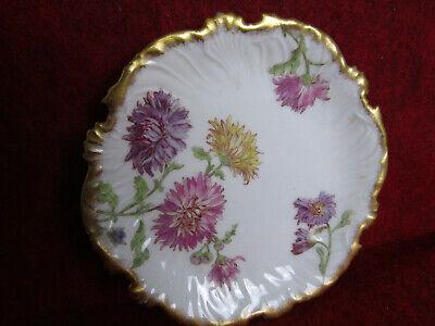 Limoges France Blackberry Vine Plate