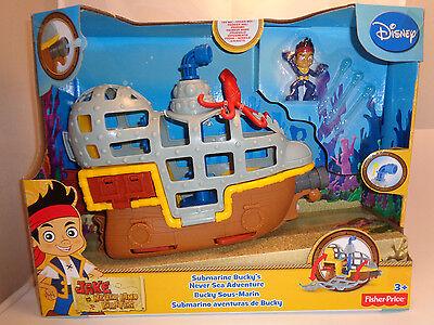 Jake und die Nimmerland Piraten*Fisher Price*Disney*U-Boot*Spiele-set*Neu  (Jake Und Die Nimmerland Piraten Boot)