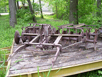 Vintage Ihc Burch Plow Co Tractor - Fast Hitch Disc - 90 Wide- 29 W Prongs