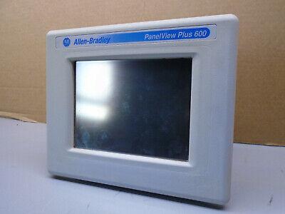 2711p-t6c20d Allen Bradley Panelview Plus 600  2711pt6c20d  310