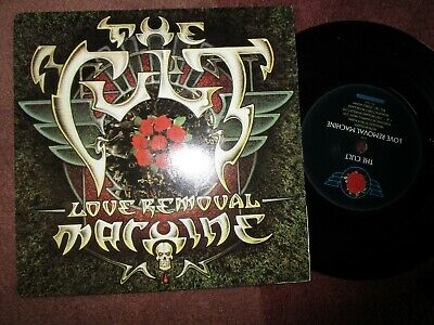The Cult Love Removal Machine. Beggars Banquet BEG182 Paper L Vinyl 7inch Single, used for sale  Shipping to Nigeria