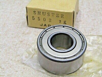 Shuster Japan 5502 55502 5202kd15mmx 35mmx .625 Dbl Row Angular Contact Bearing