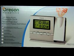 Oregon Scientific Self Setting Atomic Projection Alarm Clock
