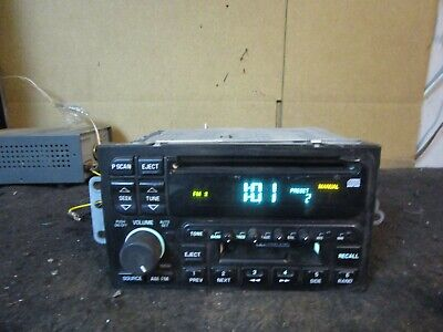 1995-2005 Buick Park Avenue Regal Century Radio CD Cassette Player 09350424