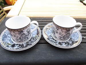 Royal Doulton Studio Provence ~ teacup and saucer x 2