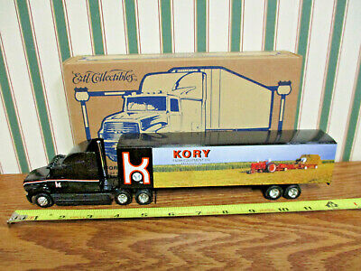 Kory Farm Equipment Ford Semi 2000 Louisville Show By Ertl 1/64th Scale