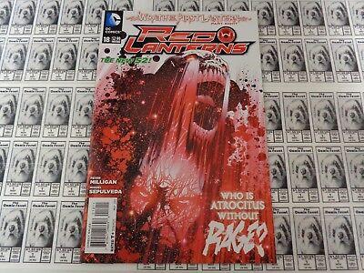 Red Lanterns (2011) DC - #18, Wrath of First Lantern, Milligan, NM/- (New 52)