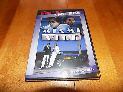 THE BEST OF THE 80S MIAMI VICE Crime Series Classic TV Florida 1980's DVD